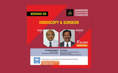 New Webinar on  Endoscopy & Surgeon