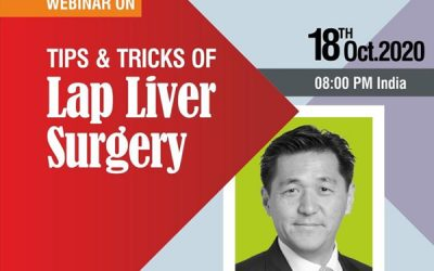 """Webinar on """"Tips and Tricks Of Lap Liver Surgery""""."""
