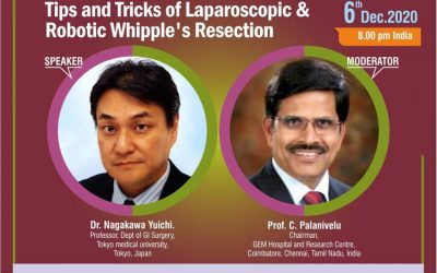 Webinar on Tips and Tricks of Laparoscopic & Robotic Whipple's Resection